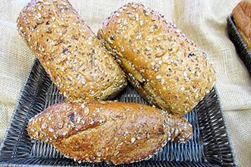 Pão de Castanha-de-Caju, Linhaça e Semente de Abóbora