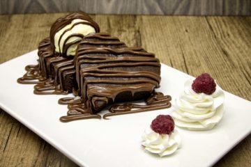 Brownie com Creme de Avelã