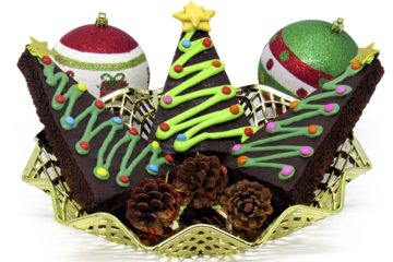 Brownies de Natal