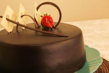 Bolo Supremo de Chocolate Bakels
