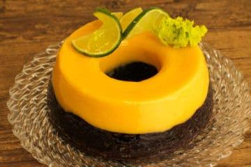 Bolo Brownie com Limão Siciliano